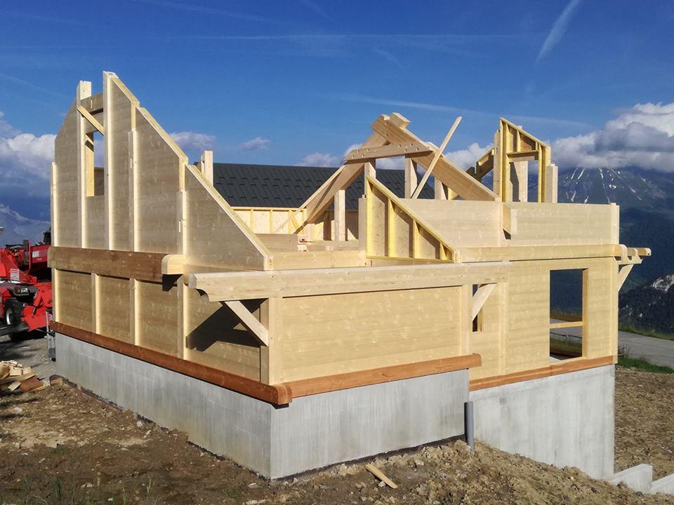 construction en bois en altitude | Savoie Travaux Habitat (S.T.H)